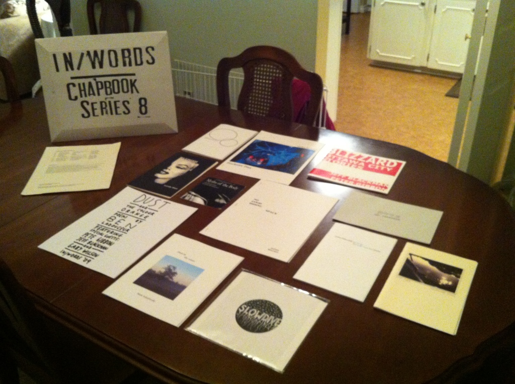 In/Words Chapbook Series 8 Contents