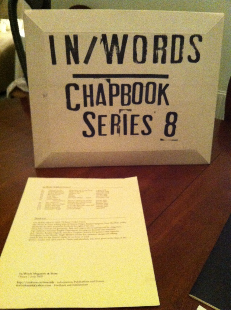 In/Words Chapbook Series 8